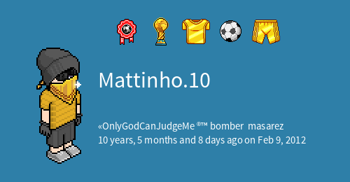 Mattinho 10 From Habbo It Habbowidgets Com
